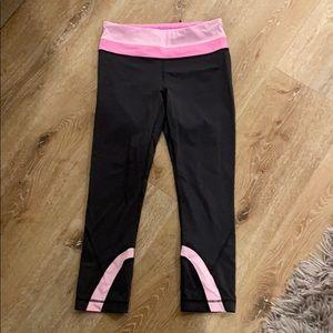 Lululemon yoga pants pink